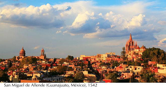 San Miguel de Allende (Guanajuato, México), 1542
