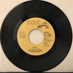 THE NITE-LITERS:K-JEE(RECORD SIDE-B)