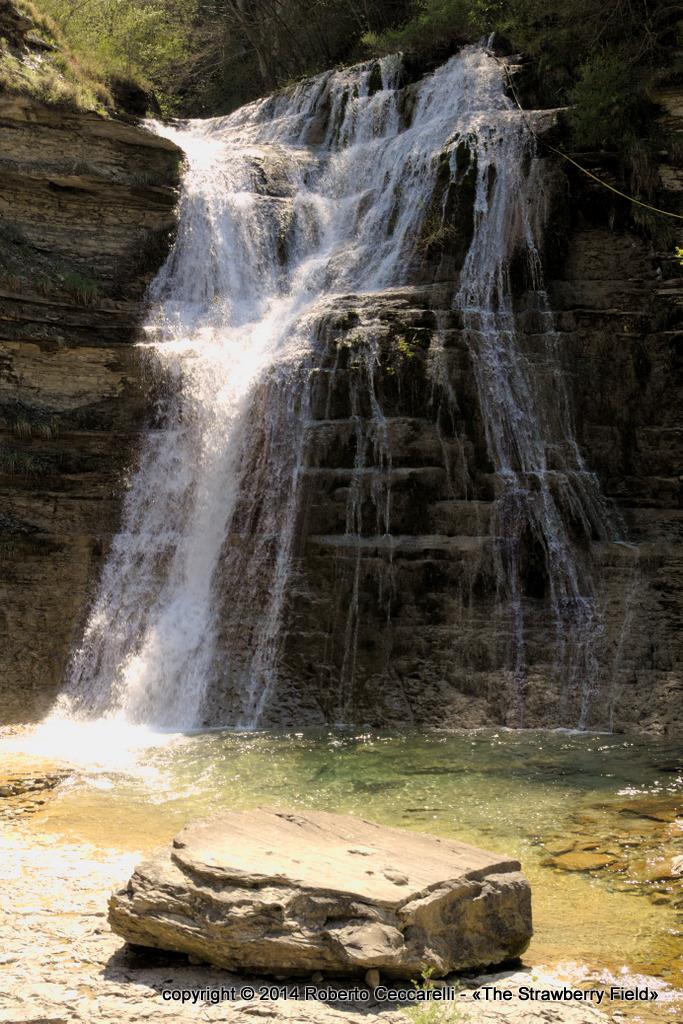 La cascata del Presalino