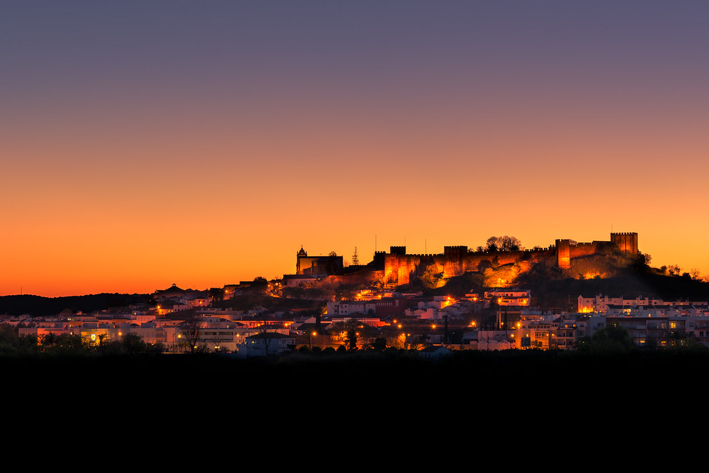 Silves ao Pôr do Sol - Silves at Sunset