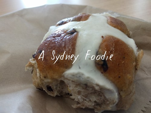 San Antonio bakery hot cross bun