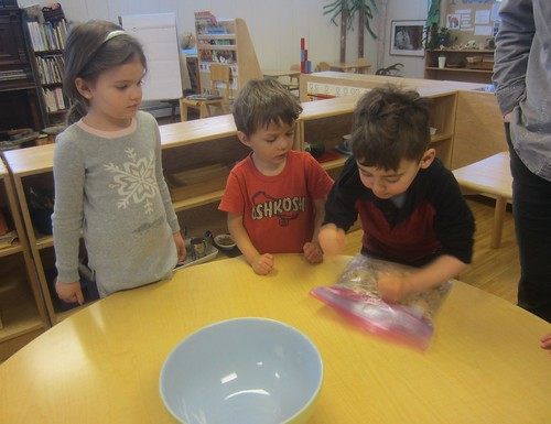 pounding the graham crackers