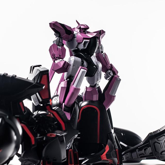 漆黑的復仇鬼... 千值練 METAMOR-FORCE《機動戰艦 The prince of darkness》黑百合(ブラックサレナ)、高機動組件