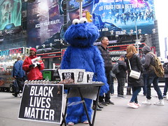 vending black lives matter jewelry at times square