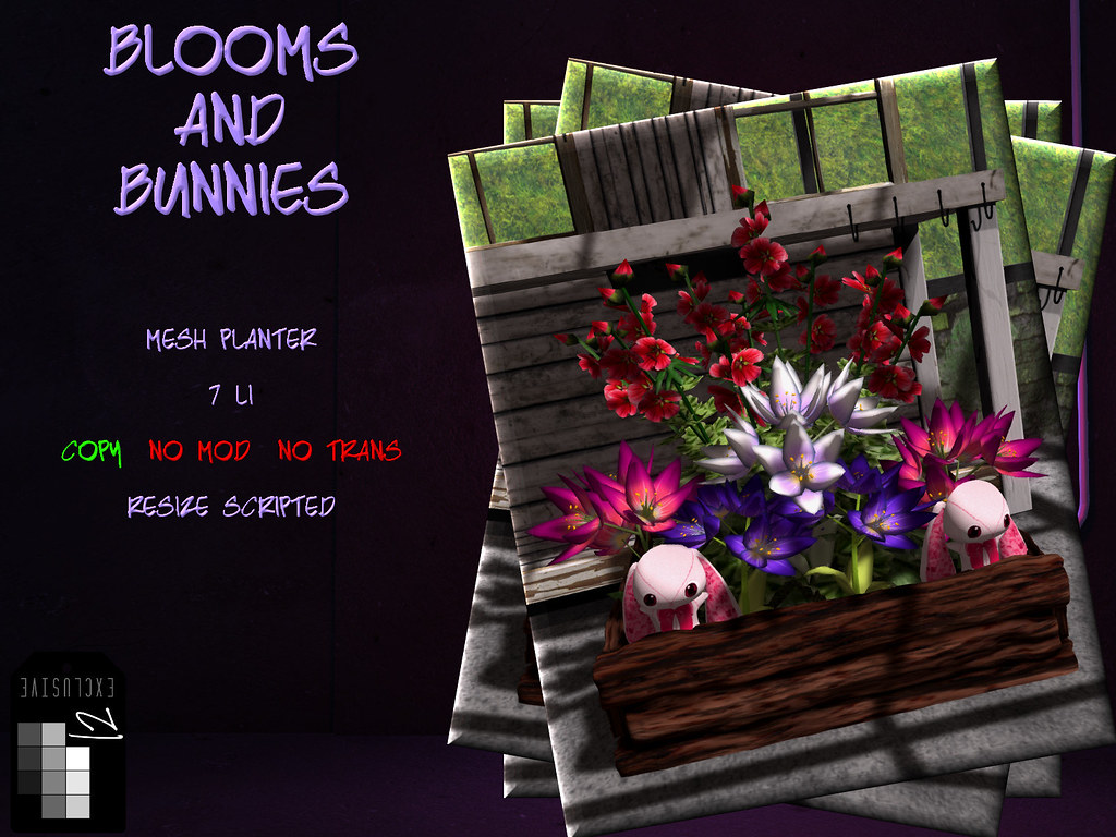 +FH+ Blooms and Bunnies - TeleportHub.com Live!