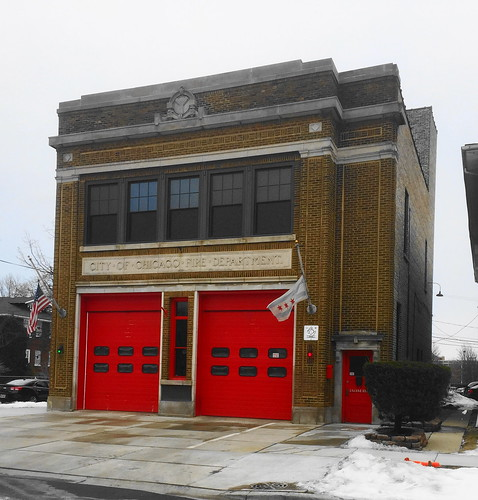 Chicago Fire Department Station, 11035 South Homewood Avenue