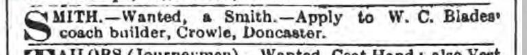 Stamford Mercury - Friday 15 June 1888