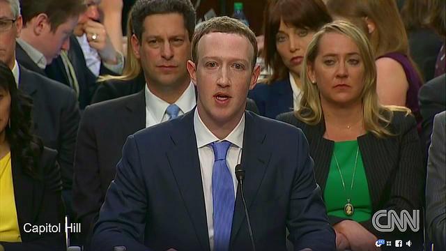 Zuckerberg ante el Senado