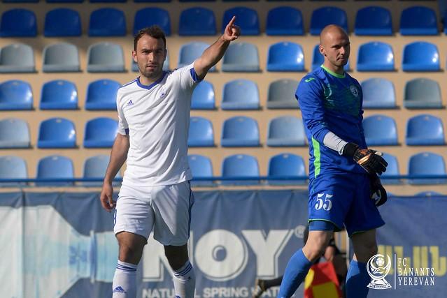 FC Banants vs FC Alashkert 3-0