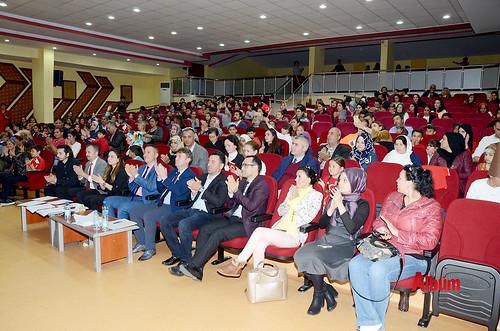 Alanya'da İstiklal Marşı'nı okumak için yarıştılar-2