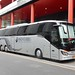 Andre Rieu tour coach outside Hilton Hotel, Wembley