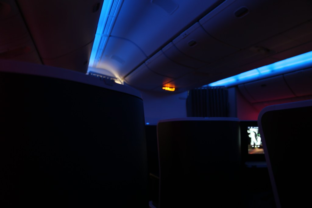 Virgin Australia business class 61