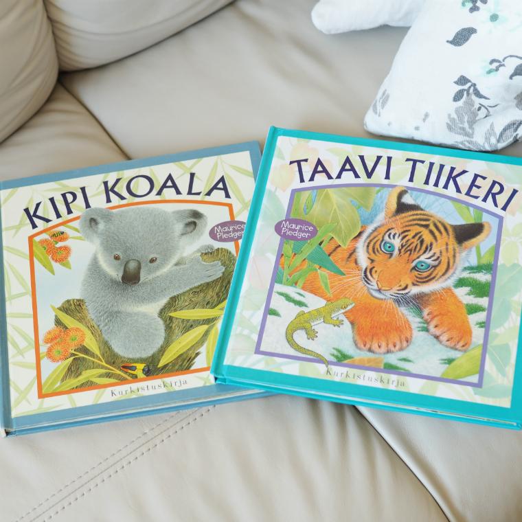 Taavi Tiikeri ja Kipi Koala kirja