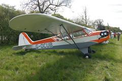 G-OCUB Piper L-4J [13248] Popham 020509