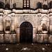 Alamo Door at Night