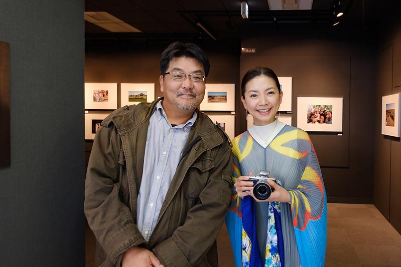 Miss Mika Sakamoto (Japanese actress) & Me ;)