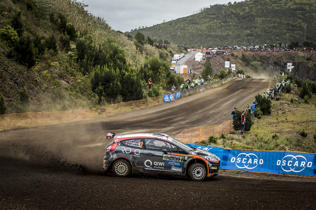 02 LUKYANUK Alexey (rus), ARNAUTOV Alexey (rus), RUSSIAN PERFORMANCE,FORD fiesta R5,ACTION  during the 2018 European Rally Championship ERC Azores rally,  from March 22 to 24, at Ponta Delgada Portugal - Photo Gregory Lenormand / DPPI