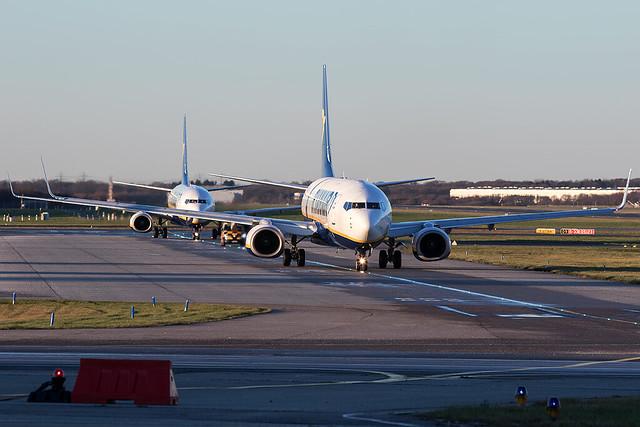 EI-EVL / Ryanair / Boeing 737-8AS(WL)