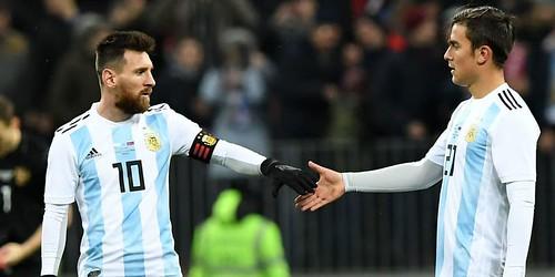 Lionel Messi Merasa Tidak Ada Masalah dengan Paulo Dybala