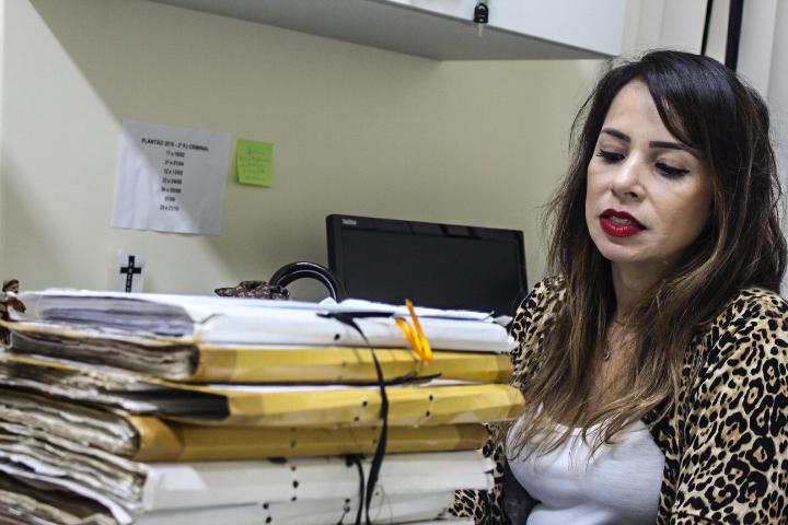 A promotora de Justiça Francys Galhardo está à frente do caso há um ano.