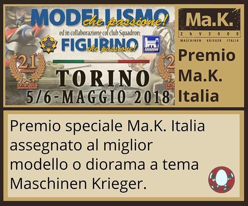 Mak.Italia premio Modellismo che Passione