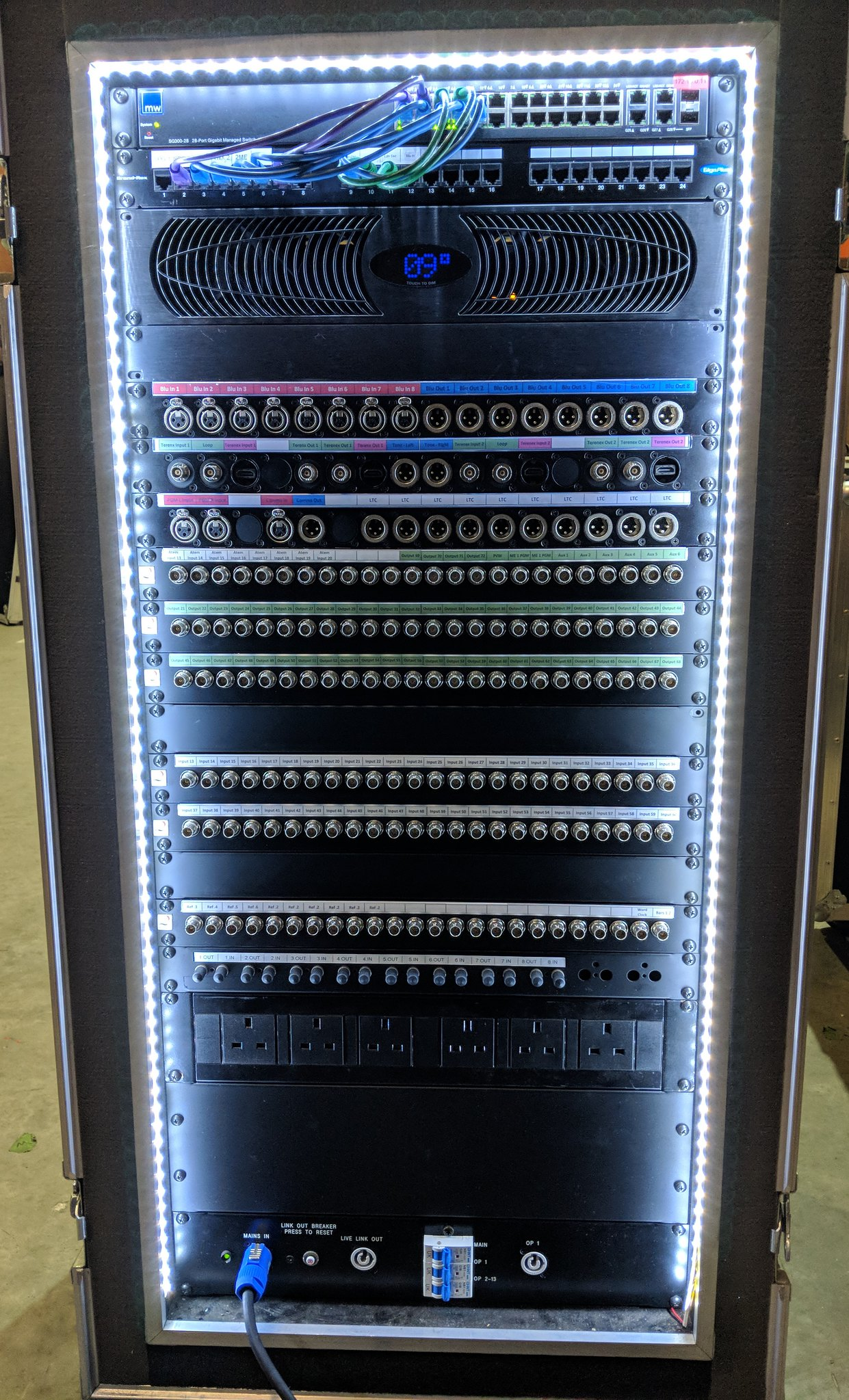 Blackmagic Forum • View topic - Flypack config w/ patch panel