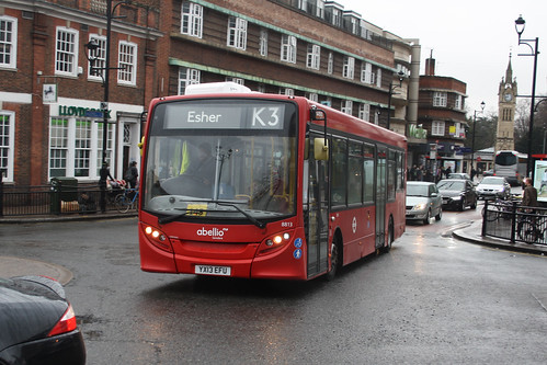 Abellio London 8813 YX13EFU Surbiton