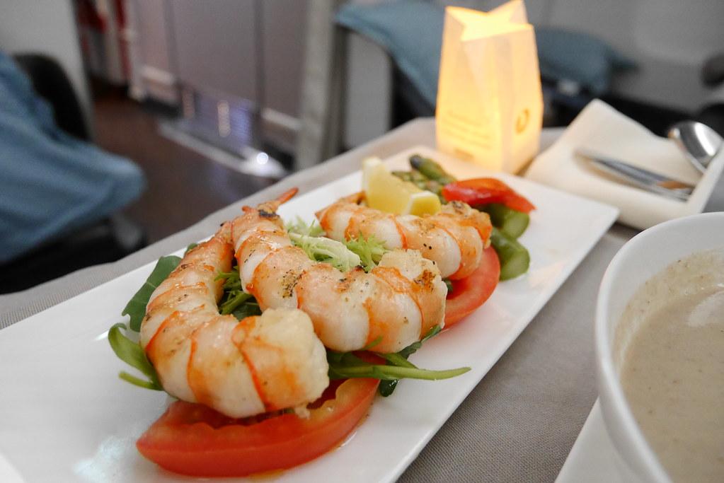 土耳其航空商務艙海鮮前菜