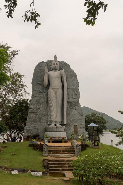 Buddha Statue at Giritale Wewa