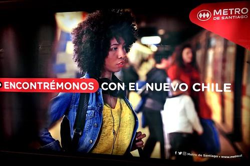 Metro de Santiago - El nuevo Chile