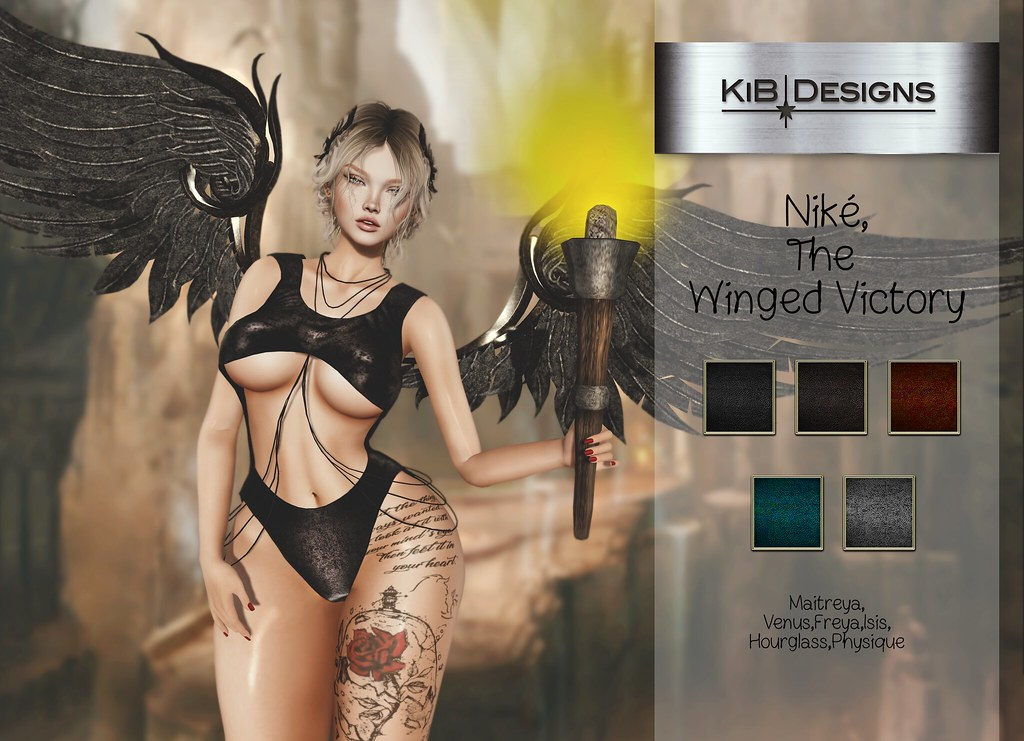 KiB Designs – Niké, The Winged Victory Outfit @Secret Affair