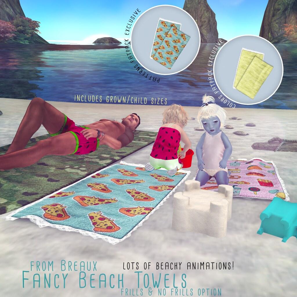 Fancy Beach Towels at Ninety-Nine - TeleportHub.com Live!