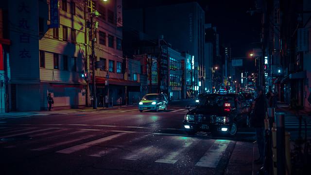 Deep Nights in Osaka, Canon EOS 5D MARK III, Canon EF 35mm f/1.4L II USM