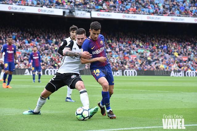 El Barça-Valencia de la jornada 32 de LaLiga Santander | Fotos de Noelia Déniz, VAVEL