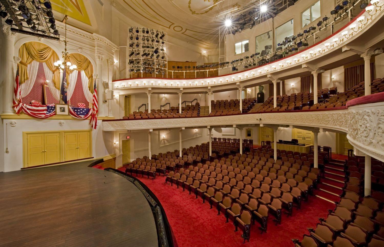 Ford's Theatre interior, Washington, D.C. Photo taken on February 2, 2009.