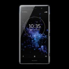05_Xperia_XZ2 Premium_front_chrome black