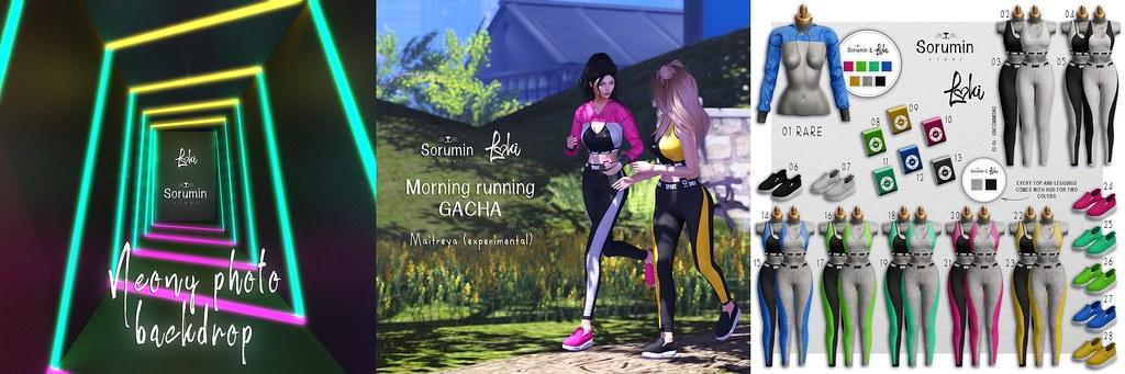 Sorumin&Loki - Morning Running GACHA @ Limit8 - TeleportHub.com Live!