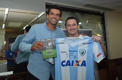"""16-04-2018: Lançamento livro """"Vitor, goleiro. Verdade de campeão"""""""