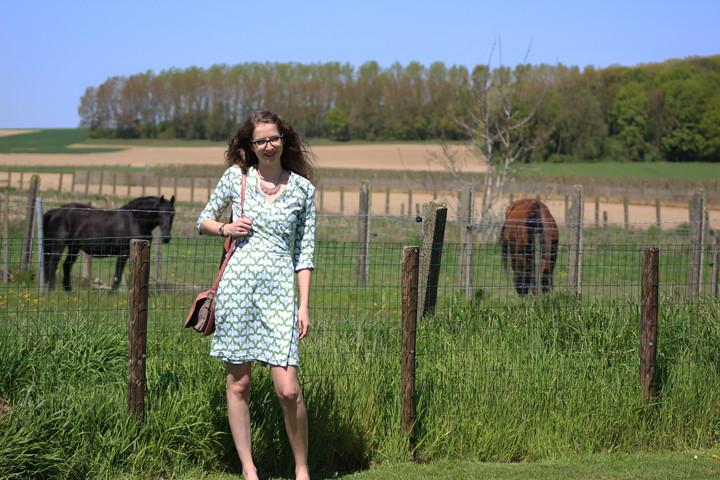 OOTD: Elisa jurk van La Maison Victor