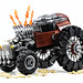 Apocalyptic Roadster. by Mark of Falworth
