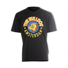 The Bulldog Amsterdam - Original Large Logo T-shirt - Black, White or Grey