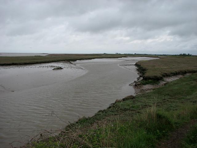 The River Ore near Shingle Street