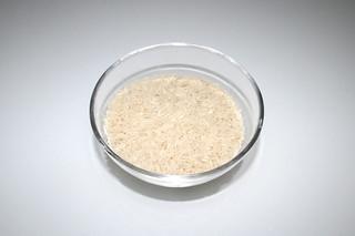 09 - Zutat Basmati-Reis / Ingredient basmati rice