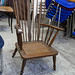 Dutch oak frame  armchair E50