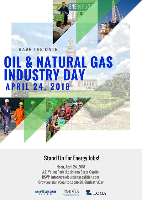 2018 Oil & Natural Gas Industry Day - 8x11 Save the Date