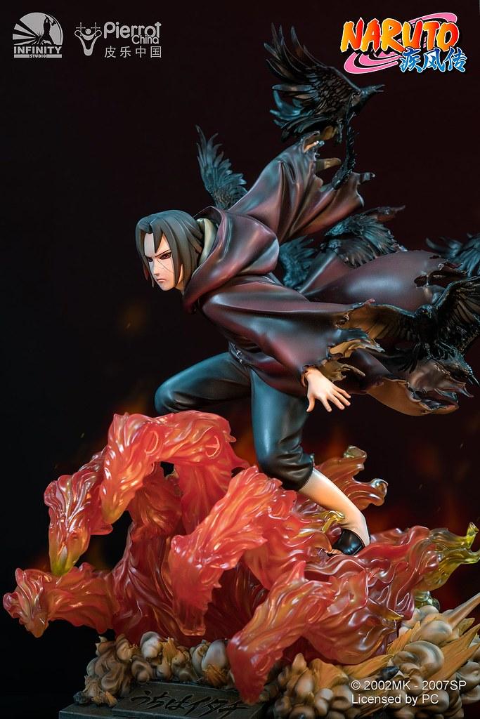 Infinity Studio《火影忍者疾風傳》宇智波鼬 Uchiha Itachi うちはイタチ 1/6 比例全身雕像作品