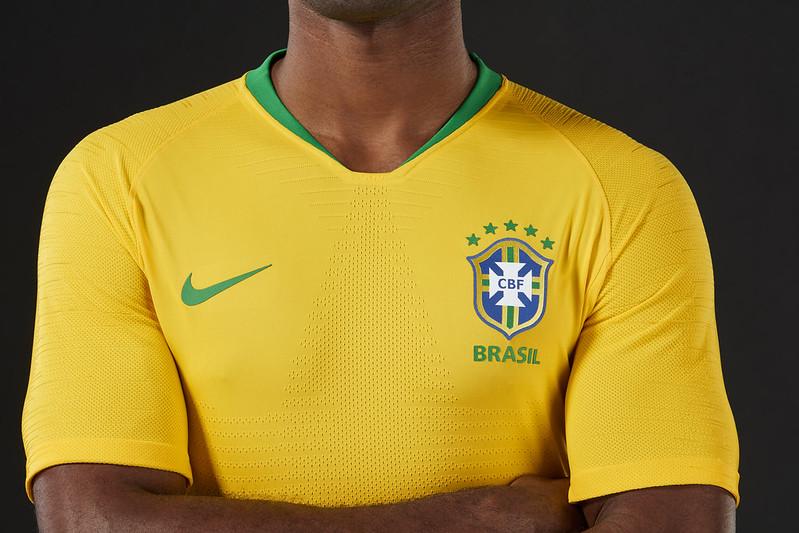 Novos uniformes da Seleção Brasileira