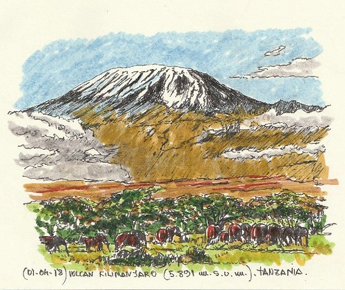 Kilimanjaro (5.891 m.s.n.m.)