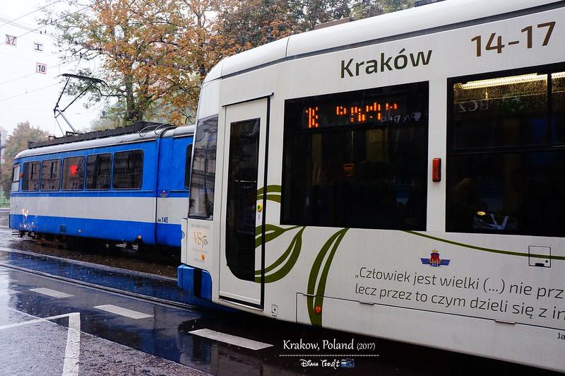2017 Europe Krakow Tram