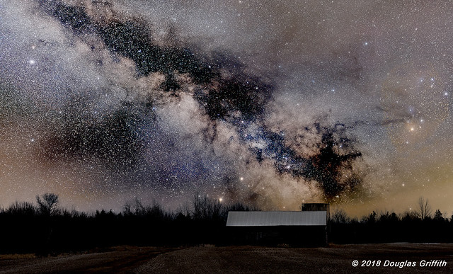 Can You Count the Stars? Milky Way Over a Beckwith Township Barn